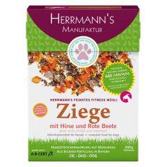 Herrmann's - Trockenfutter - Fitnessmüsli Ziege mit Hirse und Rote Beete
