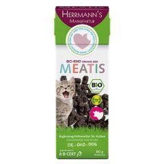 Herrmann's - Katzensnack - Meatis Bio-Rind (getreidefrei)
