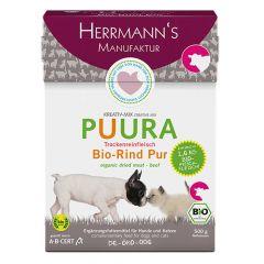 Herrmann's - Trockenfutter - Puura Trockenfleisch Bio-Rind Pur (getreidefrei)