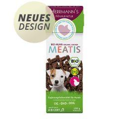 Herrmann's - Hundesnack - Meatis Bio-Huhn (getreidefrei)
