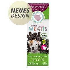Herrmann's - Hundesnack - Meatis Bio-Rind (getreidefrei)