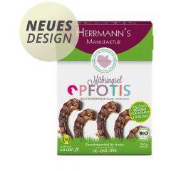 Herrmann's - Kausnack - Pfotis Bio-Hühnerhälse (getreidefrei)