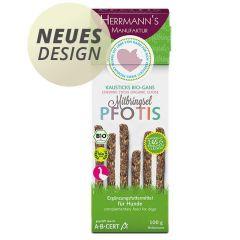 Herrmann's - Kausnack - Pfotis Kausticks Bio-Gans mit Dinkelflocken