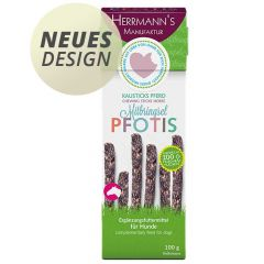 Herrmann's - Kausnack - Pfotis Kausticks Pferd mit Süßkartoffel (getreidefrei)