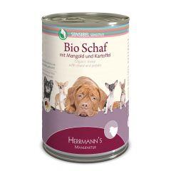 Herrmann's - Nassfutter - Selection Sensibel Bio-Schaf mit Mangold und Kartoffeln (getreidefrei)