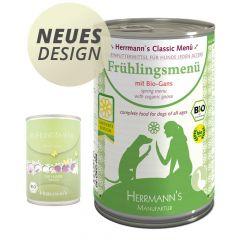Herrmann's - Nassfutter - Frühlingsmenü mit Bio Gans (getreidefrei)