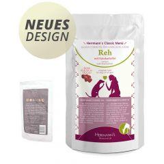 Herrmann's - Nassfutter - Reh mit Süßkartoffeln (getreidefrei)