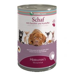 Herrmann's - Nassfutter - Selection Sensibel Schaf mit Zucchini und Kartoffeln (getreidefrei)