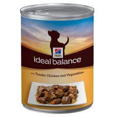 Hill's - Nassfutter - Ideal Balance Canine Adult mit Huhn und Gemüse