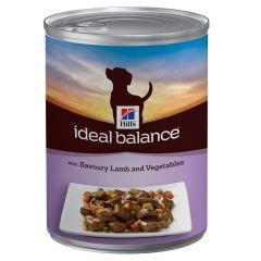 Hill's - Nassfutter - Ideal Balance Canine Adult mit Lamm und Gemüse