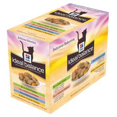 Hill's - Nassfutter - Ideal Balance Feline Multipack