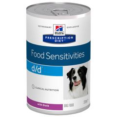 Hill's - Nassfutter - Prescription Diet Canine Food Sensitivities d/d mit Ente