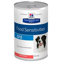 Hill's - Nassfutter - Prescription Diet Canine Food Sensitivities d/d mit Lachs