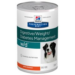 Hill's - Nassfutter - Prescription Diet Canine Digestive/Weight/Diabetes Management w/d mit Huhn