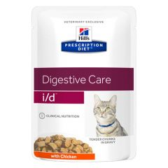 Hill's - Nassfutter - Prescription Diet Feline Digestive Care i/d mit Huhn