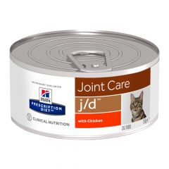 Hill's - Nassfutter - Prescription Diet Feline Joint Care j/d mit Huhn feingehackt