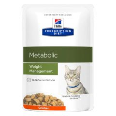 Hill's - Nassfutter - Prescription Diet Feline Metabolic Weight Management Huhn
