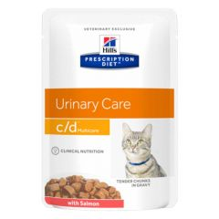 Hill's - Nassfutter - Prescription Diet Feline Urinary Care c/d Multicare mit Lachs