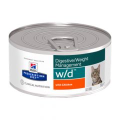 Hill's - Nassfutter - Prescription Diet Feline Digestive/Weight Management w/d mit Huhn
