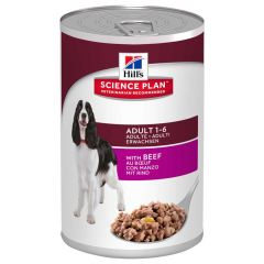 Hill's - Nassfutter - Science Plan Canine Adult mit Rind