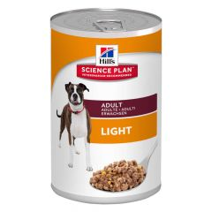 Hill's - Nassfutter - Science Plan Canine Adult Light mit Huhn