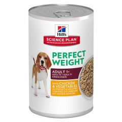 Hill's - Nassfutter - Science Plan Canine Adult Perfect Weight mit Huhn