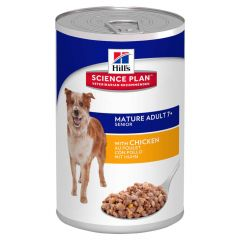 Hill's - Nassfutter - Science Plan Canine Mature Adult 7+ Active Longevity mit Huhn