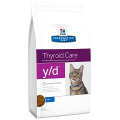 Hill's - Trockenfutter - Prescription Diet Feline Thyroid Care y/d Original