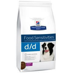 Hill's - Trockenfutter - Prescription Diet Canine Food Sensitivities d/d Ente und Reis
