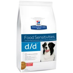 Hill's - Trockenfutter - Prescription Diet Canine Food Sensitivities d/d Lachs und Reis