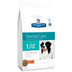 Hill's - Trockenfutter - Prescription Diet Canine Dental Care t/d mit Huhn