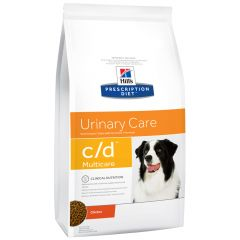 Hill's - Trockenfutter - Prescription Diet Canine Urinary Care c/d Multicare