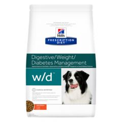 Hill's - Trockenfutter - Prescription Diet Canine Digestive/Weight/Diabetes Management w/d mit Huhn