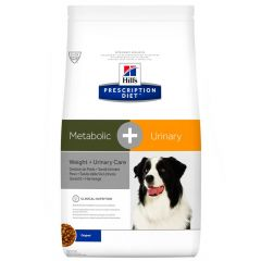Hill's - Trockenfutter - Prescription Diet Canine Weight & Urinary Care Metabolic + Urinary
