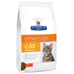 Hill's - Trockenfutter - Prescription Diet Feline Urinary Care c/d Multicare Huhn