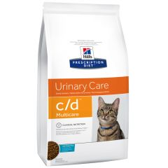 Hill's - Trockenfutter - Prescription Diet Feline Urinary Care c/d Multicare mit Seefisch