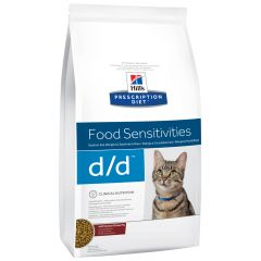 Hill's - Trockenfutter - Prescription Diet Feline Food Sensitivities d/d mit Wild