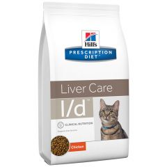 Hill's - Trockenfutter - Prescription Diet Feline Liver Care l/d Huhn