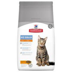 Hill's - Trockenfutter - Science Plan Feline Adult No Grain mit Huhn + Kartoffel (getreidefrei)