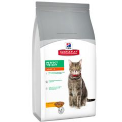 Hill's - Trockenfutter - Science Plan Feline Adult Perfect Weight mit Huhn