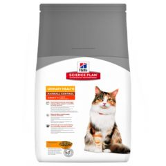 Hill's - Trockenfutter - Science Plan Feline Adult Urinary Health Hairball Control Huhn
