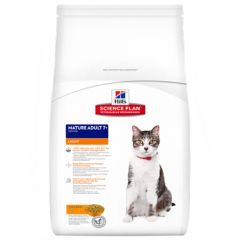 Hill's - Trockenfutter - Science Plan Feline Mature Adult 7+ Light Huhn
