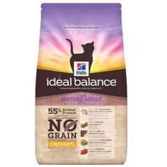 Hill's - Trockenfutter - Ideal Balance Feline Mature Adult mit Huhn & Kartoffel (getreidefrei)