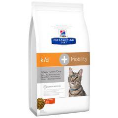 Hill's - Trockenfutter - Prescription Diet Feline k/d + Mobility mit Huhn