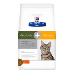 Hill's - Trockenfutter - Prescription Diet Feline Metabolic + Urinary Weight & Urinary Care Huhn
