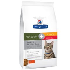Hill's - Trockenfutter - Prescription Diet Feline Metabolic + Urinary Stress Weight & Urinary Care Huhn