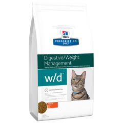 Hill's - Trockenfutter - Prescription Diet Feline Digestive/Weight Management w/d Huhn