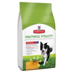 Hill's - Trockenfutter - Science Plan Canine Adult 7+ Youthful Vitality Medium mit Huhn & Reis