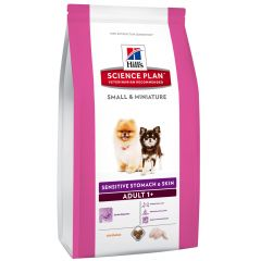 Hill's - Trockenfutter - Science Plan Canine Adult Small & Miniature Sensitive Stomach & Skin