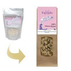 Farrado - Katzensnack - gefriergetrocknet - Snack al Naturale 100% Hühnerbrust (getreidefrei)